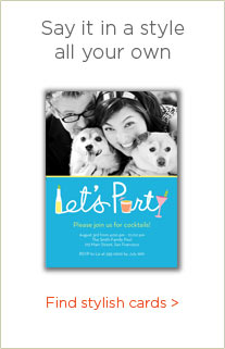 SAY IT IN A STYLE ALL YOUR OWN - FIND STYLISH CARDS