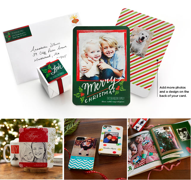 Get in the holiday spirit with Santa and Shutterfly