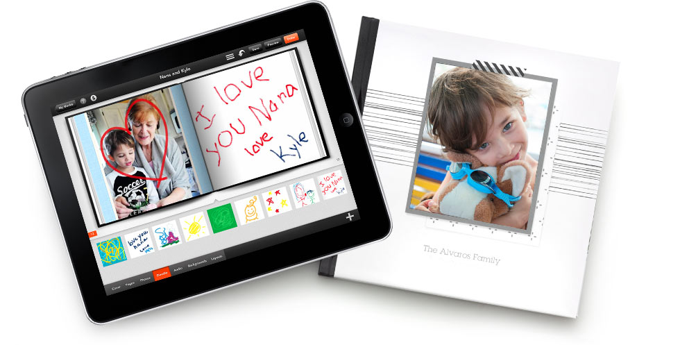 Shutterfly Photo Story for iPad App, iPad Photo Books App | Shutterfly