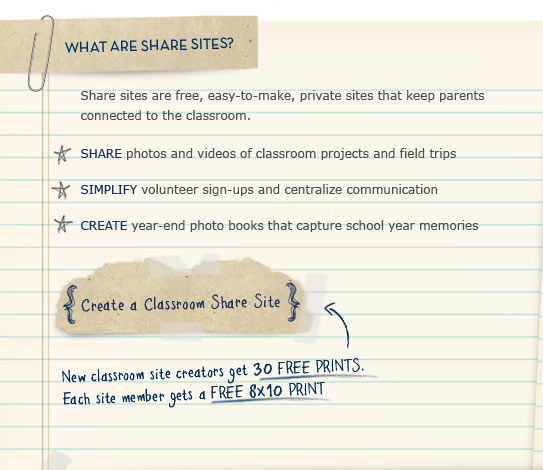 WHAT ARE SHARE SITES?