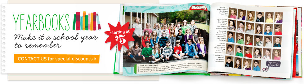 YEARBOOKS - MAKE IT A SCHOOL YEAR TO REMEMBER - CONTACT US FOR SPECIAL DISCOUNTS