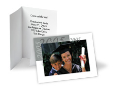 Photo Graduation Invitation