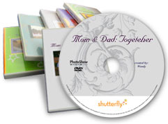 Shutterfly DVD Photo Slide Show