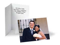 Photo Wedding Announcement