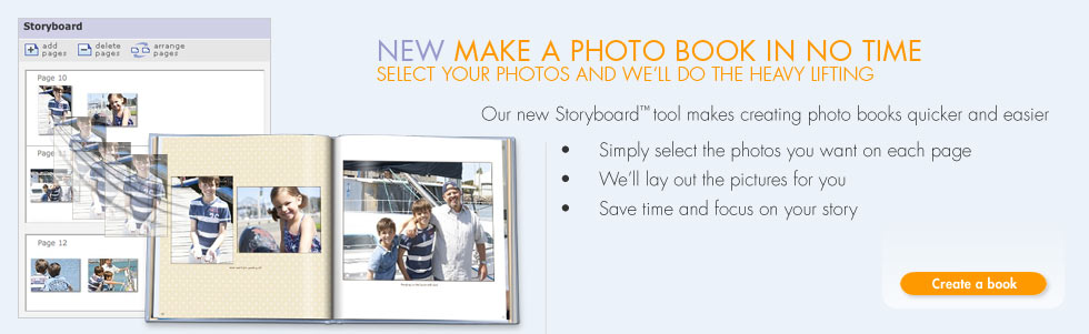 NEW Make A Photo Book In No Time