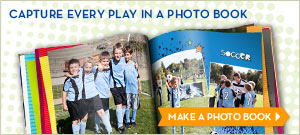 Capture Every Play In A Photo Book