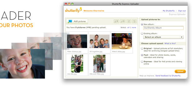 New Express Uploader - The Fastest Way To Upload Your Photos