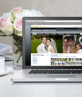 Your Big Day deserves a special Share site