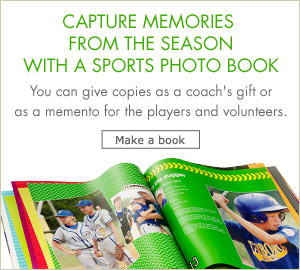 Capture Memories From The Season With Sports Photo Books