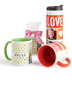 Photo mugs from Shutterfly