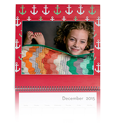 Personalized 12x12 wall calendars from Shutterfly