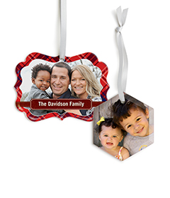 Ornaments from Shutterfly