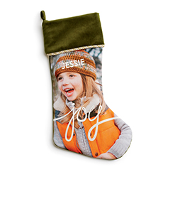 Personalized Christmas Stockings from Shutterfly