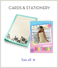 CARDS & STATIONERY - SEE ALL