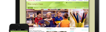 What is a Classroom Share site?