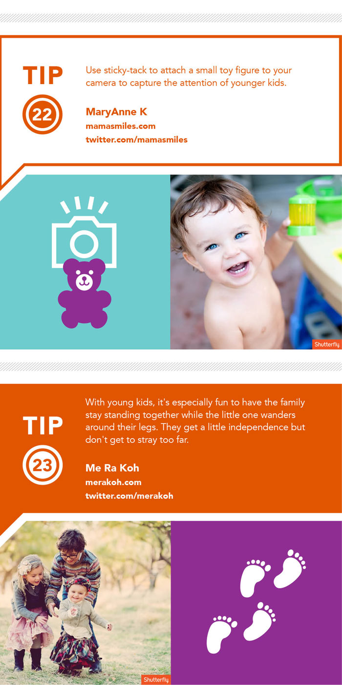 Kids Photography Tips Ingrographic by Shutterfly