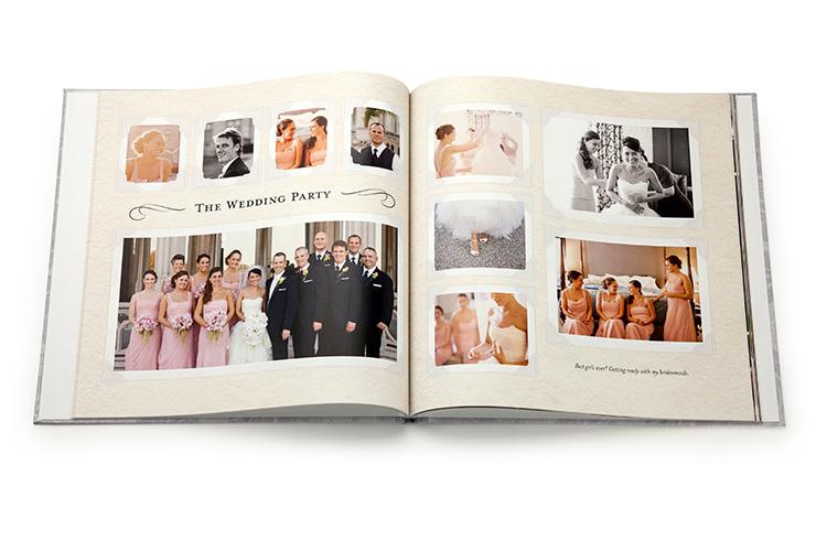 Wedding Photobook Cover Ideas : Wedding ideas bridesmaid gifts guest books