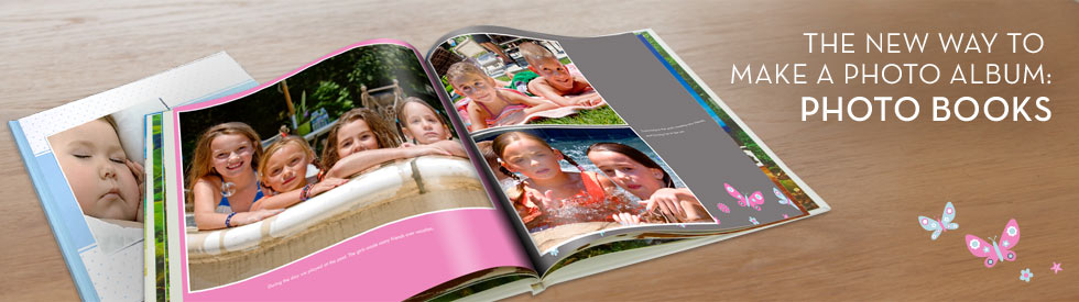 The New Way To Make A Photo Album: Photo Books