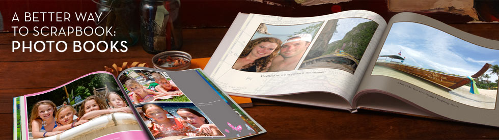 A Better Way To Scrapbook: Photo Books