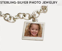 Sterling-Silver Photo Jewelry