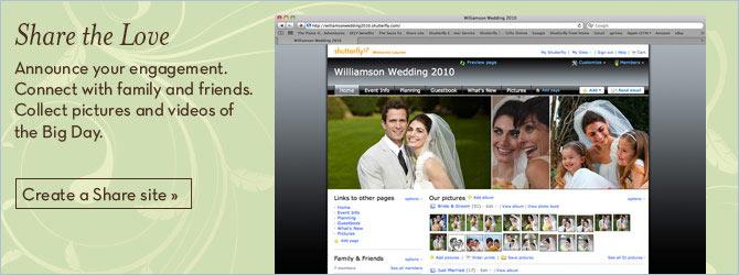 Free Wedding Website Personalized Engagement